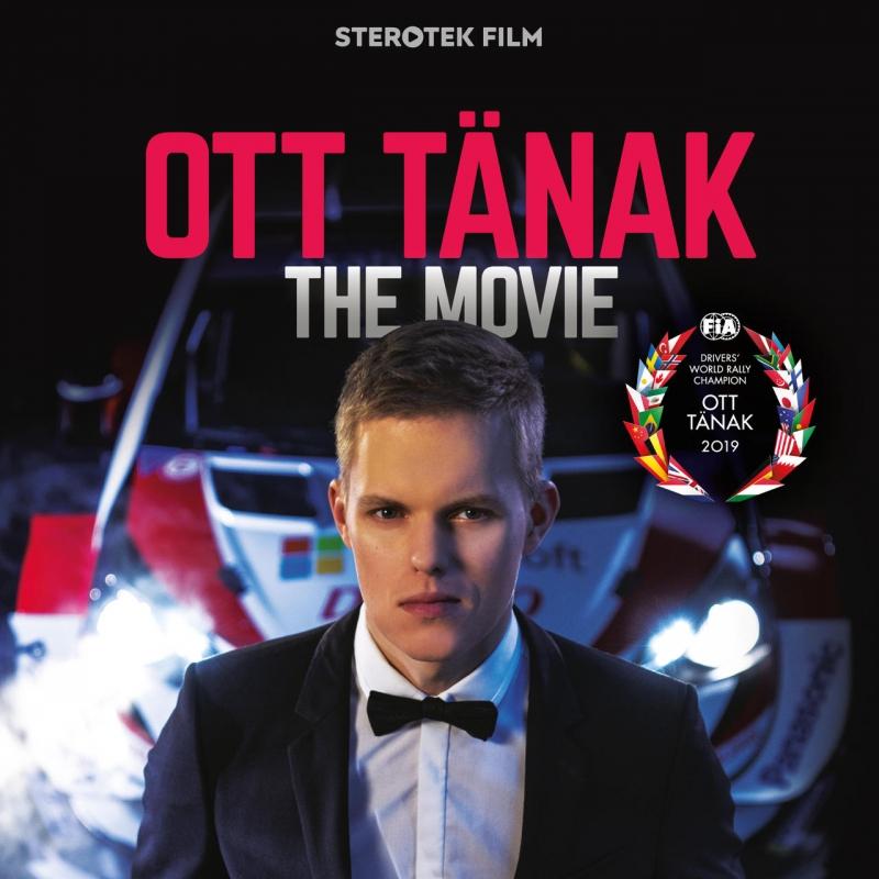 Ott Tänak - The Movie DVD - fännipakk