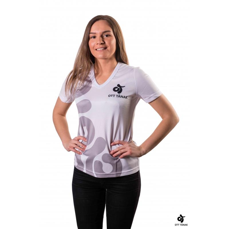 Ott Tänak naiste T-särk (valge)