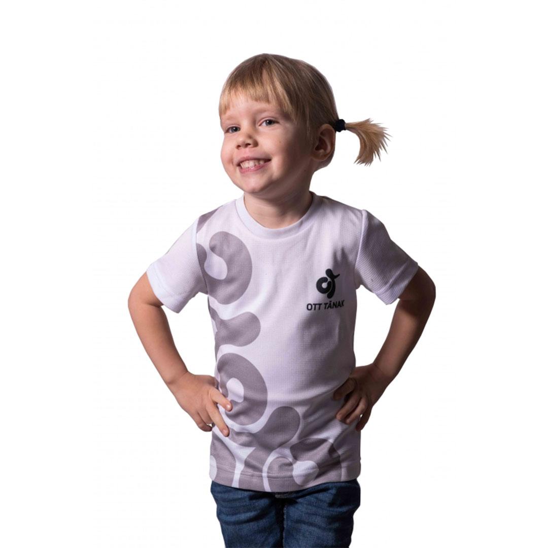 Ott Tänak laste T-särk (valge)